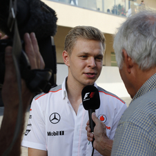 Kevin Magnussen is among the rookie drivers entering F1 this season