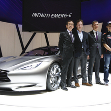 Red Bull and Infiniti have been building a strong relationship. Red Bull promoted the Emerg-E