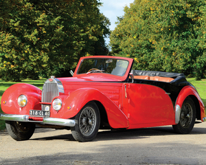 Type 57C Stelvio Drophead Coupé by Gangloff