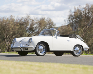 356B 1600 Super 90 Cabriolet by Reutter