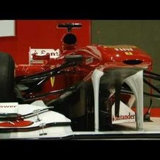 Ferrari 2011 F1 car launch - F150 fly-around