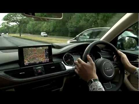 Audi A6 Review - Fifth Gear Web TV