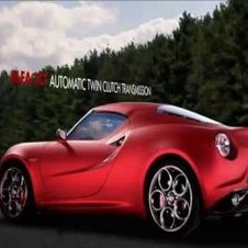 Alfa Romeo 4C Concept - First Official Promo