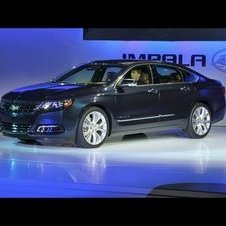 2014 Chevrolet Impala -- 2012 New York Auto Show