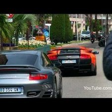 Supercars of Monaco on one day!! LP670 Enzo One-77 Veyron Agera R SLR - 1080p HD